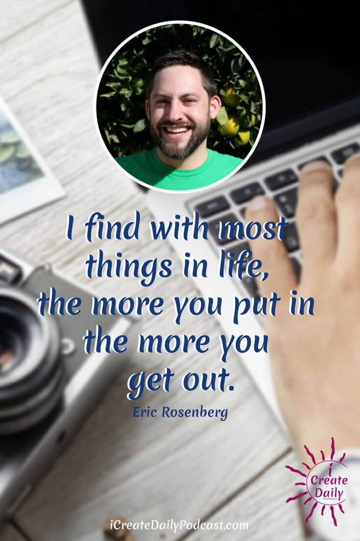 Eric Rosenberg is a successful freelance writer who's articles have appeared on sites such as Huffington Post, Investopedia, and Business Insider. Eric also a personal finance blogger, host oftwo podcasts, public speaker, DJ, and private pilot! #quotes #writer #creator #business