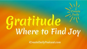 iCD Where to Find Joy Gratitude Quote
