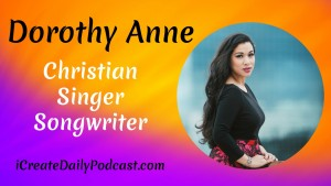 Originally from the tropical islands of the Philippines, Dorothy Anne Dauenhauer, is a Christian singer and songwriter, inspiring listeners worldwide with her unique blend of contemporary pop and worship music.