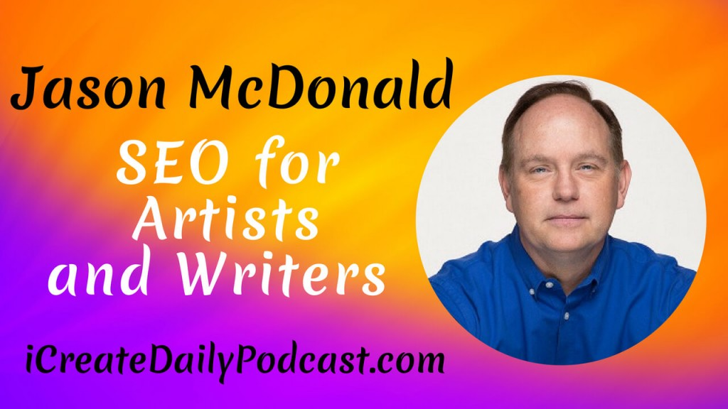 Our guest today has super important about SEO for artists and writers interested in growing their business. What does SEO stand for? SEO stands for Search Engine Optimization. But what does that mean?! That's exactly what our guest is going to share!