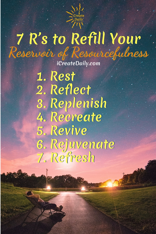 We all know what R and R means. Something to do with rest and… another 'R' word. Some say Rest and Recreation.
