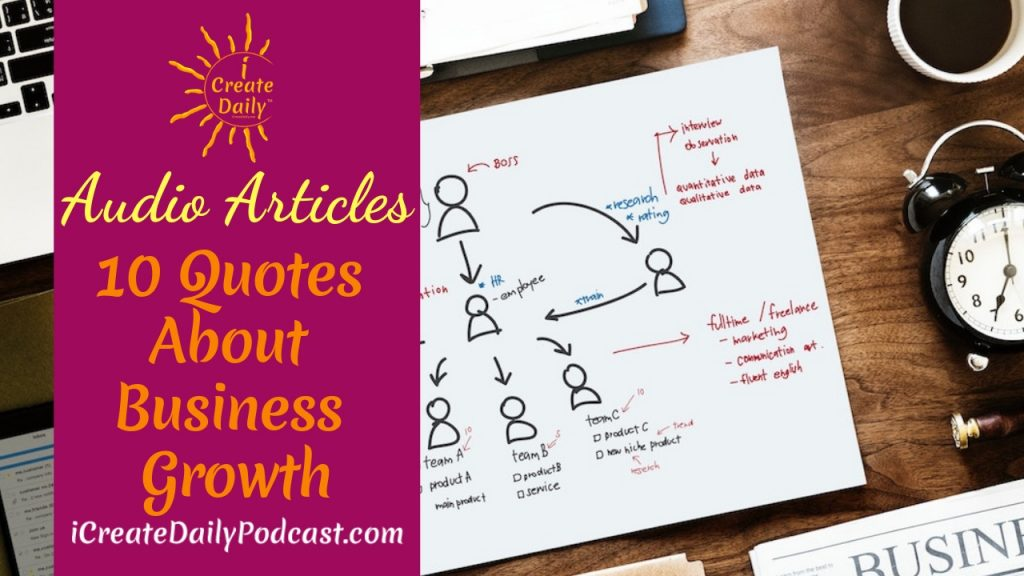 10 Quotes About Business Growth