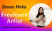 Episode 148: Freelance Artist Bruna Mebs